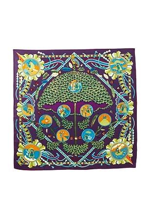 Hermès Women's L'Ombrelle Magique Scarf, Purple