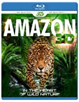 AMAZON 3D - In The Heart Of Wild Nature (Blu-ray 3D & 2D Version) REGION FREE