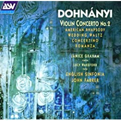 Dohnanyi: Violin Concerto No.