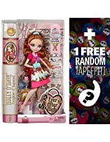 Holly O Hair Daughter Of Rapunzel: Ever After High Sugar Coated Doll + 1 Free Official Monster High Mini Tapeffiti Bundle