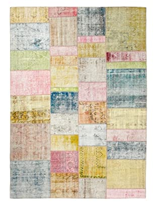 ABC Carpet & Home One Of A Kind Overdyed Rug (Pastel Multi)