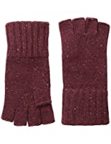 Coal Men's Taylor Fingerless Glove, Burgundy, One Size
