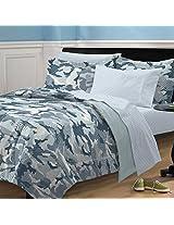 My Room Geo Camo Camouflage Comforter Set, Blue, Twin