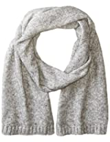 Jack Spade Men's Gallagher Brushed Scarf, Charcoal, One Size