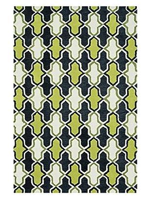 Loloi Rugs Weston Rug, Lime/Charcoal, 3' 6