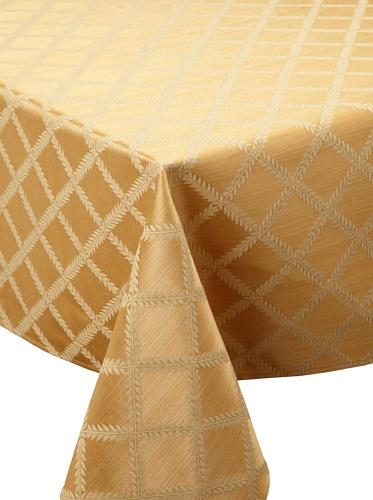 Lenox Laurel Leaf Tablecloth (Gold)