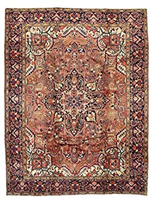 Bashian Hand Knotted Herez Rug, Rust, 8' x 11' 2