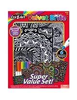 Cra Z Art Velvet Brite Super Value Set