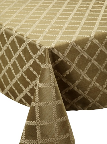 Lenox Laurel Leaf Tablecloth (Sage)