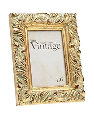 Philip Whitney Vintage Gold Leaf Frame