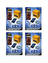 4 Batman Heroes And Villains Favor Pack For 4 (16 Total)