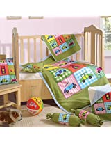 Complete Baby Crib Set of Seven Pieces from Swayam