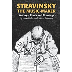 Stravinsky the Music-Maker: Writings, Prints and Drawing