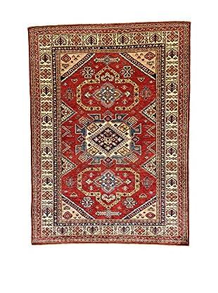 L'Eden del Tappeto Teppich Kazak Super rot/mehrfarbig 207t x t152 cm