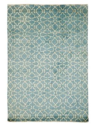Azra Imports Vogue Rug, Blue/Ivory, 8' 1