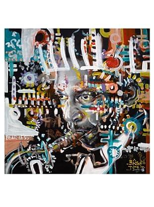 "Giorgio Casu-John Coltrane, 30"" x 30"""
