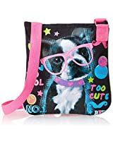 Accessories 22 Girls' Cute Frenchie Photo Real Crossbody Bag, Multi, One Size