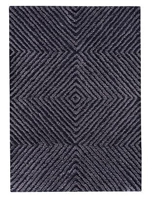 MAT the Basics Buffalo Hand-Tufted Shag Rug (Blue)