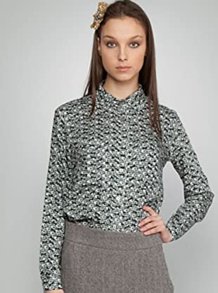 Dolores Promesas Camisa Flores (negro / gris)