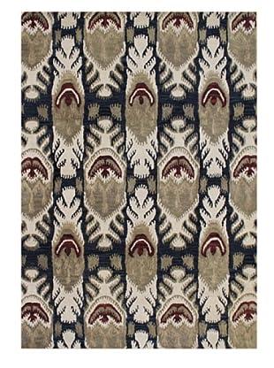 Horizon Rugs New Zealand Wool Rug (Almond/Olive/Brick Multi)