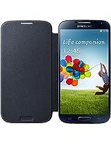 Samsung SM-EF-FI950BBEGWW Flip Cover for Samsung Galaxy S4 - Retail Packaging - Black