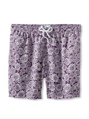 Trunks Men's San-O Swim Shorts (Blossom Lotus)