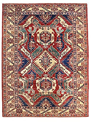 Bashian Rugs One-of-a-Kind Hand Knotted Kazak Rug, Rust, 5' 10