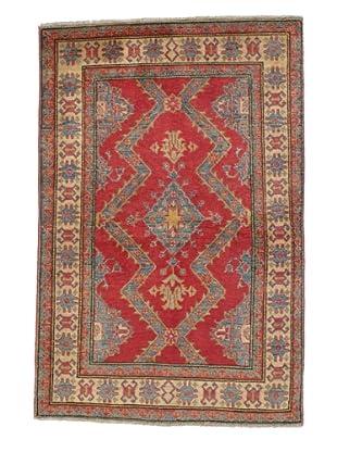 Rug Republic One Of A Kind Pakistani Kazak Rug, Red/Blue/Antique Ivory/Multi, 3' 1 x 5' 1