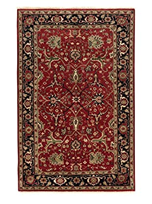 eCarpet Gallery One-of-a-Kind Hand-Knotted Serapi Heritage Rug, Burgundy, 5' 10