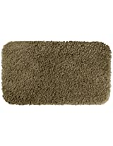 Garland Rug Serendipity Shaggy Washable Nylon Rug 30Inch by 50Inch Taupe