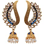 Fancy Jewellery Peacock Shaped Gold American Diamond Jewellery For Women