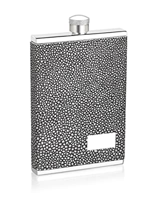 Wilouby 3-Oz. Slimline Collection Stainless Steel Flask, Stingray Finish