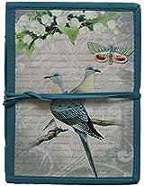 Craft Play Blue Vintage Bird Journal