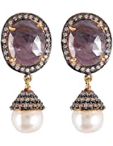 Glitz And You Antique Gold Dangle & Drop Earring For Women (SSDGAY904)