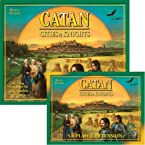 Settlers Of Catan Cities And Knights Expansion And 5-6 Player Extension
