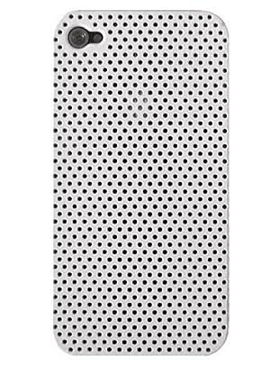 Blautel iPhone 4/4S Carcasa Protectora Rígida Micro Blanco