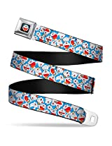 Doraemon All Over Print Seatbelt Belt