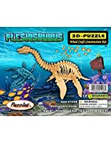 3-D Wooden Puzzle - Plesiosaurus -Affordable Gift for your Little One! Item #DCHI-WPZ-J010