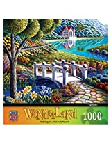 1000-Piece Daffodils Puzzle Art by Andy Russell