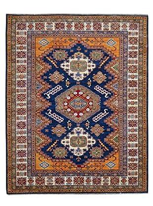 Kalaty One-of-a-Kind Kazak Rug, Blue, 4' 10
