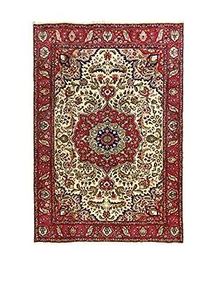 L'EDEN DEL TAPPETO Alfombra M.Tabriz Rojo/Multicolor 197 x 284 cm