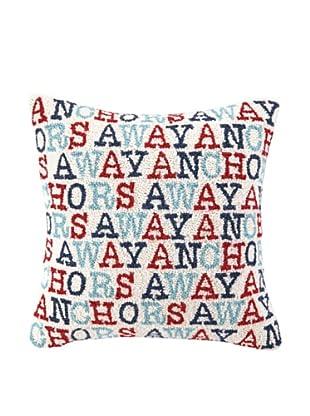 Peking Handicraft Anchor's Away Pillow