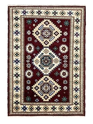 Darya Rugs Kazak Oriental Rug, Dark Red, 8' 1
