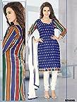 Beautiful and stylish Casual Chudidar semi Stitched Dress Material