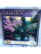 The Art Of Charles H. White Quiet Water 1000 Piece Puzzle