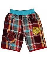 Cucumber Plaid Hot Shorts