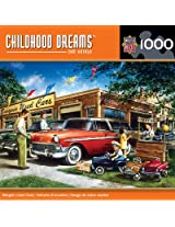 MasterPieces Childhood Dreams Bargain Used Cars Jigsaw Puzzle, 1000-Piece