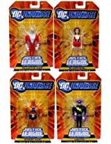 Justice League Dc Universe Unlimited Exclusive Doom Patrol Action Figures(Set of 4)