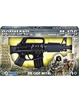Gonher Mini Assault Rifle 8, Black