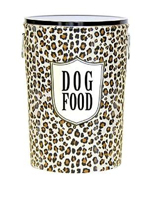 Harry Barker Dog Food Storage Canister (Leopard)
